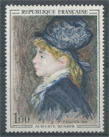 France, Portrait Of Margot By Auguste Renoir, French Painter, 1968, MNH VF - France