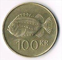 Iceland 1995 100 Kronur - Origine Inconnue
