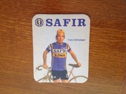 Sous Bock Bière Safir équipe Cycliste Frans Verhaegen - Sous-bocks