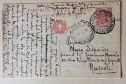 Cartolina Postale Italiana 1915 Timbro Posta Militare Uff. Interno II Armata - Poste & Facteurs