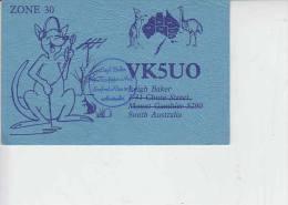 AUSTRALIA. - RADIOAMATORI 1994  QSL - Australia