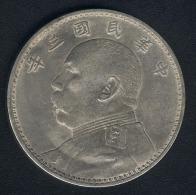 China, 1 Dollar Jahr 3 (=1914), Silber, KM 329.4 - Cina