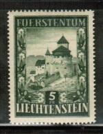 LI 1952 MI 309  ** - Liechtenstein