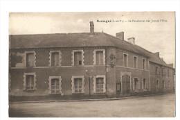 DOMAGNE , LE PENSIONNAT DES JEUNES FILLES - France