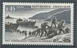 France, World War II, Landings In Provence, 1969, MNH VF - Frankrijk