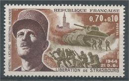 France, World War II, Marshal Leclerc, Liberation Of Strasbourg, 1969, MNH VF - France