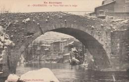 2a - 63 - Olliergues - Puy-de-Dôme - Le Vieux Pont Sous La Neige - En Auvergne - Fangeas N° 27 - Olliergues