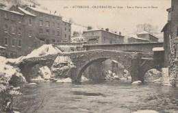 2a - 63 - Olliergues - Puy-de-Dôme - Olliergues En Hiver - Les 2 Ponts Sur La Dore - Auvergne - Delaunay N° 421 - Olliergues