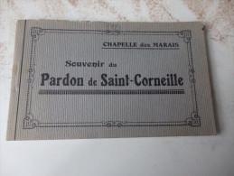 CHAPELLE DES MARAIS - Souvenir Du Pardon De Saint Corneille - Carnet Complet De 14 Cartes - France