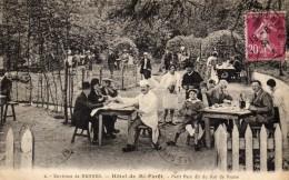 CPA  -    Environs  De  RENNES  (35)   Hotel De Mi - Foret  -   Petit Parc  Dit Du Roi De Rome   - Belle Animation - Rennes