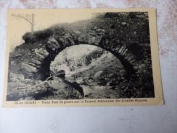 OZ EN OISANS - Vieux Pont De Pierre Sur Le Torrent Descendant Des Grandes Rousses - Zonder Classificatie