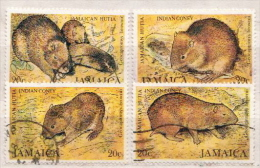 Jamaica Used Set - Rodents
