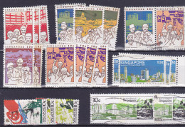 Singapore  - Nice Little Lot . Good Value, Small Starting Price. See Scans. - Singapour (1959-...)