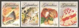 Gibraltar 2005 Mi# 1122-1125 ** MNH - Europa / Gastronomy - Gibraltar