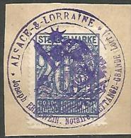 FISCAUX  D'ALSACE LORAINE  N�  96