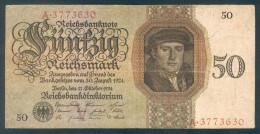 Deutschland, Germany - 50 Mark, Reichsbanknote, Ro. 170 A ,  ( Serie V/A  ) 1924 ! - 50 Reichsmark
