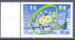 2009. Azerbaijan, 60y Of Council Of Europe, 1v,  Mint/** - Azerbeidzjan