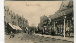 POST CARD ENGLAND LONDON HIGH STREET SIDCUP 1908 - Other
