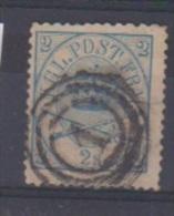 Danemark //  N 11  //  2 S Bleu  //  Oblitéré  // - 1864-04 (Christian IX)