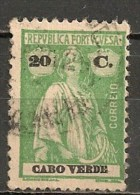 Timbres - Portugal - Cap Vert - 1913-1914 - 20 C. - - Cap Vert