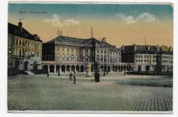 (RECTO/VERSO) METZ EN 1915 - THEATER PLATZ - PLACE DU THEATRE - Metz