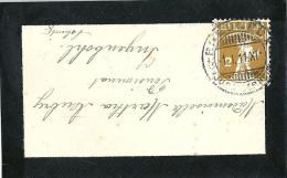 Trauerbrieflein  Breuleux (Jura Bernois) - Ingenbohl  (Schnapsdatum 1.I.11-XI)            1911 - Switzerland