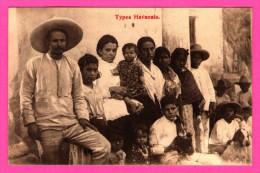 Types Havanais - Animée - Import. Cigares De Havane - Maison Havane Octave Closset - CP Publicitaire - Précurseur - 1908 - Cartoline