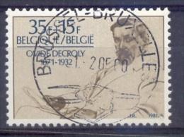 Belgie - 1981 - OBP - 2009 - 110e Verj.v/d Geboorte Van Dr. Decroly - Gestempeld - Met Gummi - Gebraucht