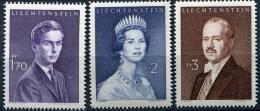 Liechtenstein- 1959- Lot De 3 Timbres Neufs Sans Charnière: 349A,349B,349C** - Liechtenstein