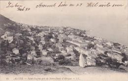 Algeria Alger Saint-Eugene pris de Notre-Dame d'Afrique