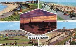 Postcard - Westbrook (Downs/Lighthouse/Gardens), Kent. ET.4374 - Margate