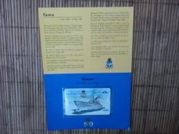 P 364 Kamina Marine (mint,Neuve) Dans Etui Catalogue 140 € Rare - Belgien