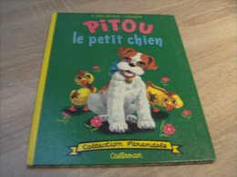 Collection Farandole : Ancienne Edition De Pitou Le Petit Chien Au Parc Illustration De Chader Delahaye - Casterman