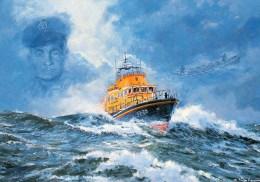 Postcard - Falmouth Lifeboat, Cornwall. S/02/113