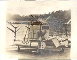 """Photo Ancienne """"Détecteur De Mines Immergées Mark 105 De La Marine Américaine - Canal De Suez"""" 1974 - Boten"""