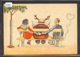 HUMOUR - HOMME COCU ET CORNU - TB - Humor