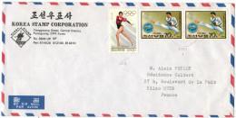 NORTH KOREA - COREA DEL NORD - 1995 - Air Mail - Viaggiata Da Pyongyang Per Reims, France - Korea (Nord-)