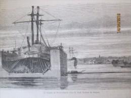 Viet Nam Vietnam   Saigon    La Fregate   La Perseverante Dans Le Dock Flottant De Saigon - Non Classés