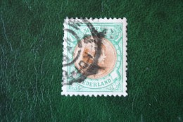 50 Ct Wilhelmina NVPH 45 (Mi 46) 1896 Gestempeld / USED NEDERLAND / NIEDERLANDE - 1891-1948 (Wilhelmine)