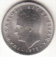 ESPAÑA 1975 ESTRELLAS 78. 5 Pts. JUAN CARLOS  NUEVA SIN CIRCULAR.CN4327 - 5 Pesetas