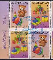 2015 Aserbeidschan Azerbaijan Booklet Set Used - 2015