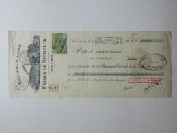 Facture Invoice Reçu Uine De Stordeur Louvain Leuven Maiserie Huilerie 1928 - Petits Métiers