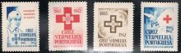 PORTUGAL 1942 CRUZ VERMELHA PORTUGUESA  PORTUGUESE RED CROSS  SERVICE DES PRISONIERS DE GUERRE  PRISONERS OF WAR SERVICE - Portofreiheit
