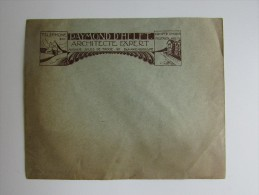 Enveloppe Raymond D'Helft Architecte Expert Blankenberghe Blankenberge 1930 - Publicités