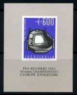 1962 JUGOSLAVIA BF9 NUOVO** - Blocchi & Foglietti