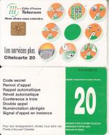 IVORY COAST - Telecom Services, Chip GEM1C, Used - Ivoorkust