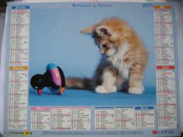 Almanach Du Facteur 2011 Département 68 En Très Bon état. Document PTT. Editions Lavigne - Calendars
