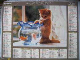 Almanach Du Facteur 2010 Département 68 En Très Bon état. Document PTT. Editions Oberthur - Calendarios