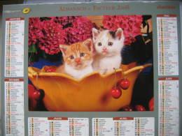 Almanach Du Facteur 2008 Département 68 En Très Bon état. Document PTT. Editions Oberthur - Calendarios