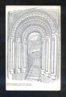 *Norman Doorway, The Castle. Durham* Edición Inglesa. Nueva. - Iglesias Y Catedrales
